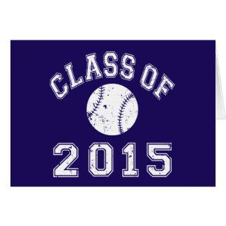 Cartes Classe du base-ball 2015