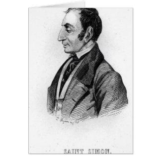 Cartes Claude Henri de Rouvroy Comte De Saint-Simon