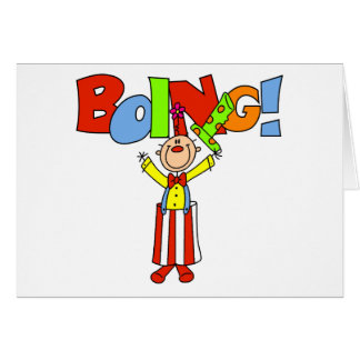 Cartes Clown de Boing