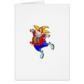Cartes Clown de danseur classique