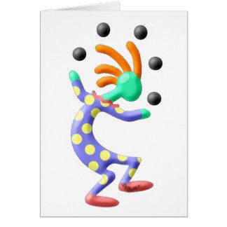 Cartes Clown de Kokopelli