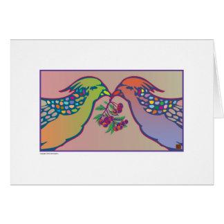 Cartes Cockatiels-Carte