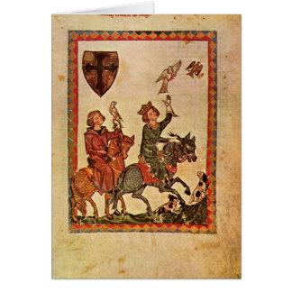 Cartes Codex Manesse par le maître de Manesse