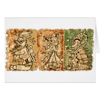 Cartes Codex maya de Dresde