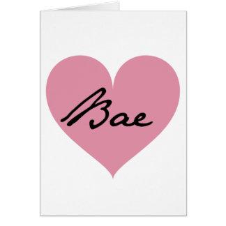 Cartes Coeur de Bae