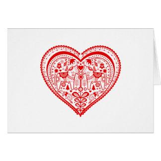 Cartes Coeur de Dala