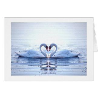 Cartes Coeur des cygnes
