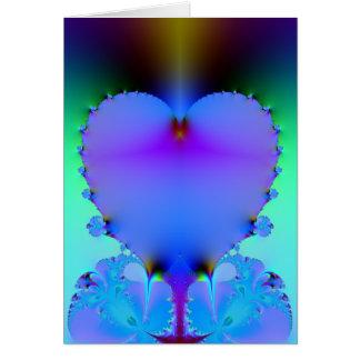Cartes Coeur translucide