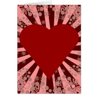 Cartes Coeur vibrant