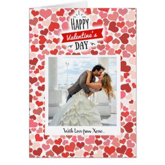 Cartes Coeurs de heureuse Sainte-Valentin