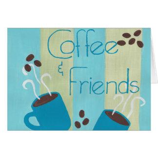 Cartes Coffe et amis