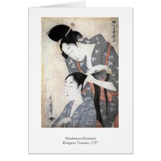 Cartes Coiffeur d'Utamaro