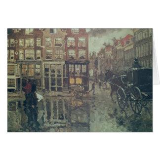 Cartes Coin de carré de Leidsche, Amsterdam