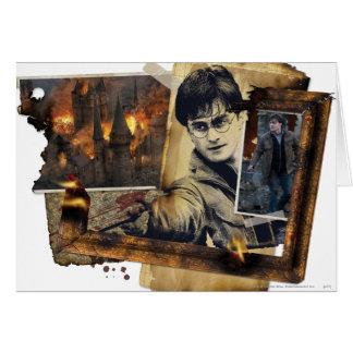 Cartes Collage 7 de Harry Potter