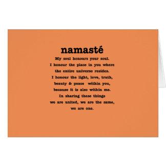 Cartes Collection de Namaste