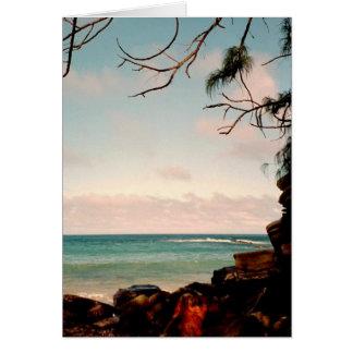 """Cartes Collection """"de plage noire de roche de Maui"""""""