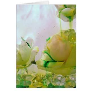 Cartes Collection de rose jaune