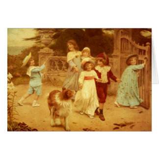 Cartes Colley vintage et enfants