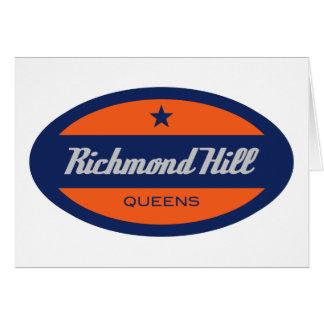 Cartes Colline de Richmond