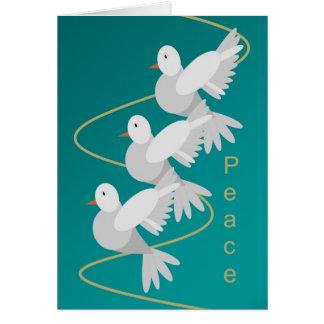 Cartes Colombes de paix