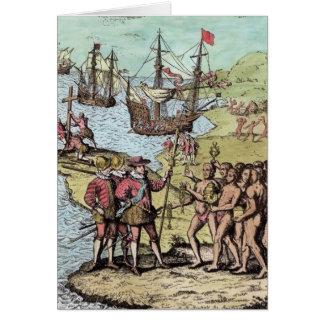 Cartes Columbus chez Hispaniola