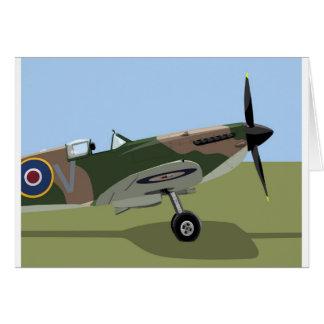 Cartes Combattant de 2ÈME GUERRE MONDIALE de Spitfire