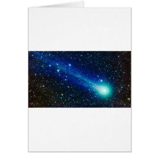 Cartes Comète bleue