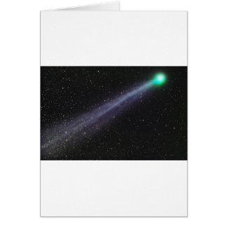 Cartes Comète verte