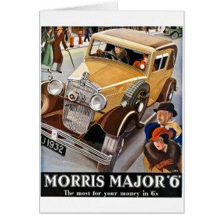 Cartes Commandant 6 de Morris - annonce automatique