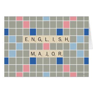 Cartes Commandant anglais