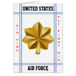 Cartes Commandant O-4 principal de l'Armée de l'Air