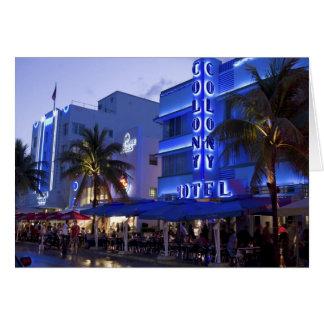 Cartes Commande d'océan, plage du sud, Miami Beach, 2
