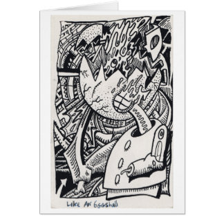 Cartes Comme une coquille d'oeuf, par Brian Benson
