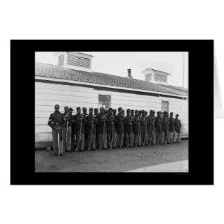 Cartes Compagnie E 1865 d'Afro-américain
