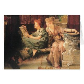 Cartes Comparaisons par Lawrence Alma-Tadema