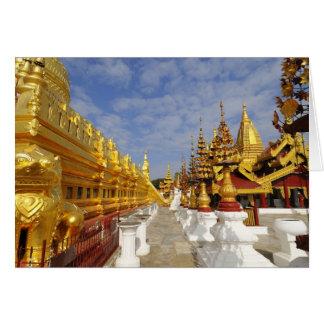 Cartes Complexe de pagoda de Shwezigon dans Bagan