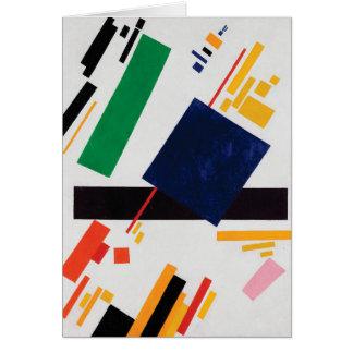 Cartes Composition en Suprematist par Kazimir Malevich