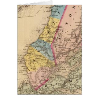 Cartes Comtés d'Inverness, Victoria, NS