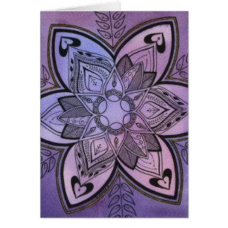 Cartes Conception de batik