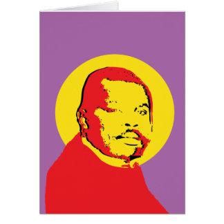 Cartes Conception de Marcus Garvey d'art de bruit