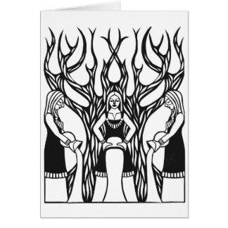 """Cartes """"Conception de papercut du Norns"""" de Jennifer"""
