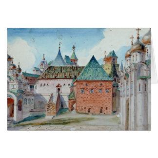 Cartes Conception d'étape pour l'opéra de Mussorgsky