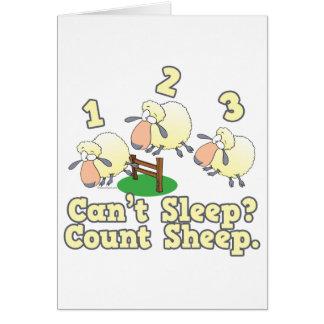 Cartes conception mignonne de bande dessinée de sommeil