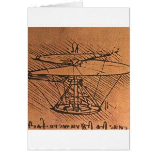Cartes Conception pour un hélicoptère