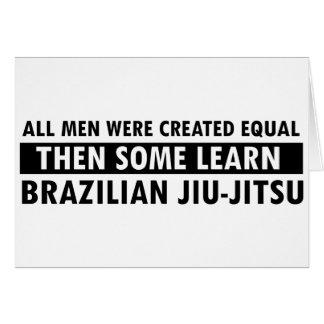 Cartes Conceptions de Jiu-Jitsu de Brésilien