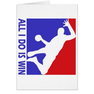 Cartes Conceptions rythmiques fraîches de handball