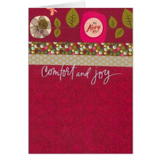 Cartes Confort et joie
