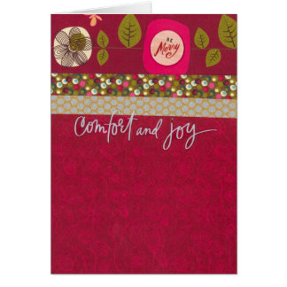 """Cartes Confort et joie (5"""" x 7"""") avec l'enveloppe"""
