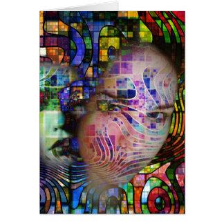 Cartes Confusion artistique de brouillard de cerveau