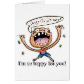 Cartes Congrats ! Je suis si heureux pour vous !